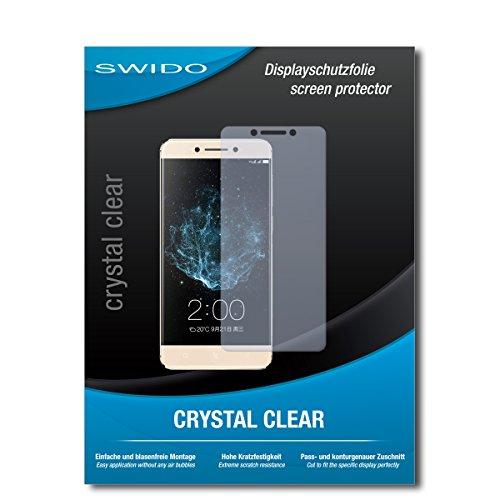 SWIDO Bildschirmschutzfolie für LeEco Le Pro 3 [3 Stück] Kristall-Klar, Extrem Kratzfest, Schutz vor Öl, Staub & Kratzer/Glasfolie, Bildschirmschutz, Schutzfolie, Panzerfolie