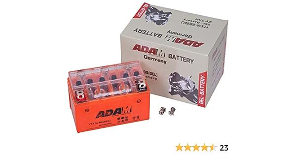 Gel Batterie 12v 7ah Ytx7a Bs Ytx7l Bs Ctx7a Bs Roller Quad Motorradbatterie Auto