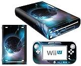 Nintendo Wii U Skin Design Foils Aufkleber Schutzfolie Set - Planet Motiv