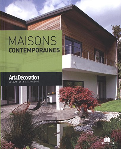Maisons contemporaines (Poche Art & Décoration)