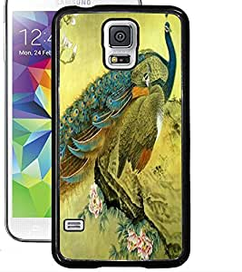 ColourCraft Beautiful Peacock Design Back Case Cover for SAMSUNG GALAXY S5 NEO