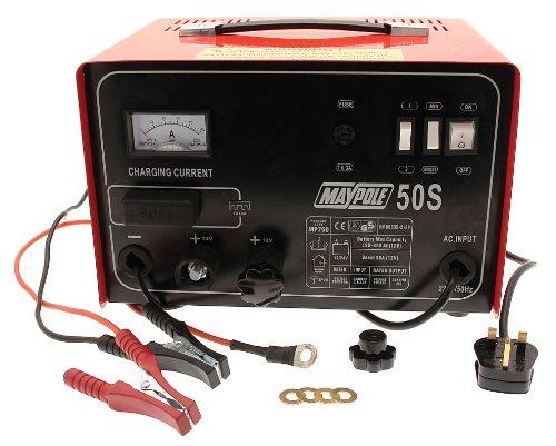 Maypole Metallo Carica batterie 75030A 12/24V