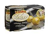 La Española Deluxe: olive verdi ripiene di pasta di acciughe - 2 x 85 g