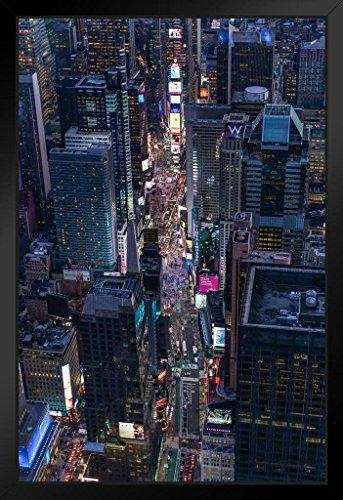 Poster Gießerei Blick von Times Square New York City NYC Foto Kunstdruck von proframes 14x20 inches Framed Poster