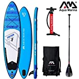Aqua Marina Triton 2019 Sup - Tabla de Surf (Hinchable), Board+SportIII Paddle
