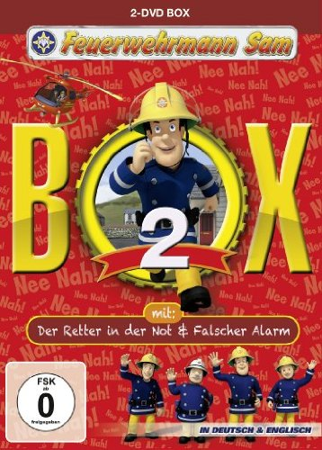 feuerwehrmann sam die komplette staffel Feuerwehrmann Sam Box 2 (inkl.