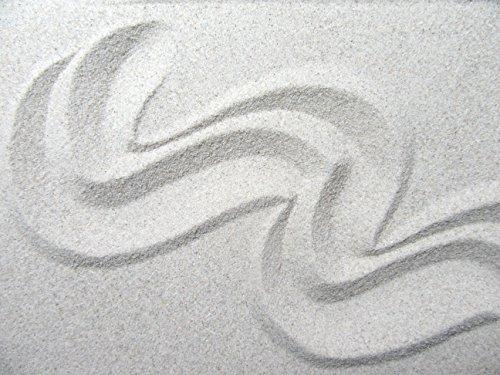 30kg Aquariumsand Körnung 0,1 - 0,3mm natur weiß