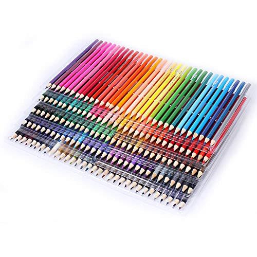 THREE 48/72/120/160 Farben Öl Buntstift Holz Graffiti Eisen Box Füllfeder Erweiterte Farbige Bleimalerei Skizze Schulbedarf, 120 Farben - Eisen-box-board