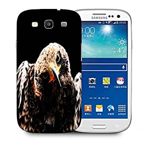 Snoogg Angry Eagle Printed Protective Phone Back Case Cover For Samsung S3 / S III