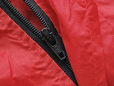 Unisex Ultraleicht Regenjacke Funktionsjacke 150 Gramm Gr. S M L XL XXL rot mit integrieter Tasche von Altus bei Outdoor Shop