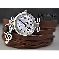 Symphony - Echtleder Armbanduhr