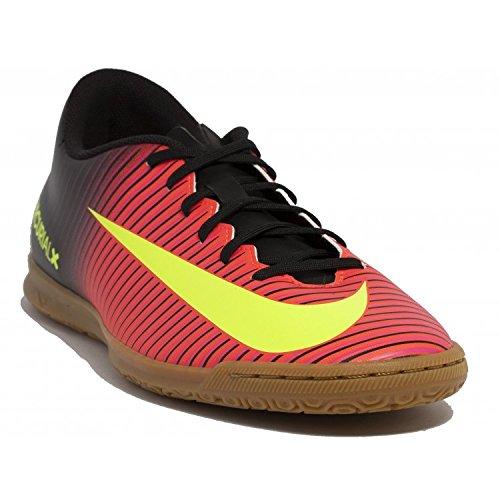 Nike Mercurialx Vortex Iii Ic, Chaussures de Foot Homme Orange - Naranja (Total Crimson / Vlt-Blk-Pnk Blst)