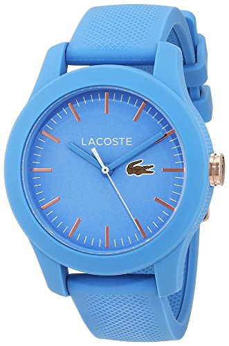 Lacoste Womens Analogue Classic Quartz Watch with Silicone Strap 2001004