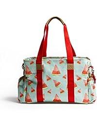 Baby Jalebi 'Margarita' Classic Multi-Storage Diaper Bag Comes With Maternity Handbag Changing Water-Proof Mat