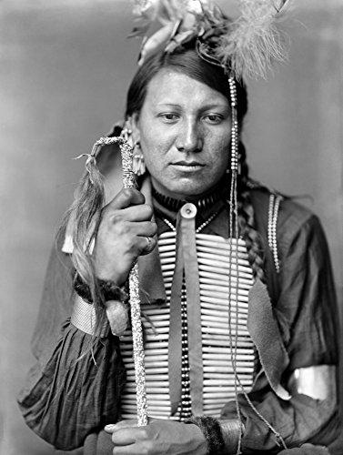 The Poster Corp Sioux Native American C1900. /Namos Little A Sioux Indian from Buffalo Bill's Wild West Show. Photograph by Gertrude K_Sebier C1900. Kunstdruck (60,96 x 91,44 cm) (Wild Bills West Buffalo)
