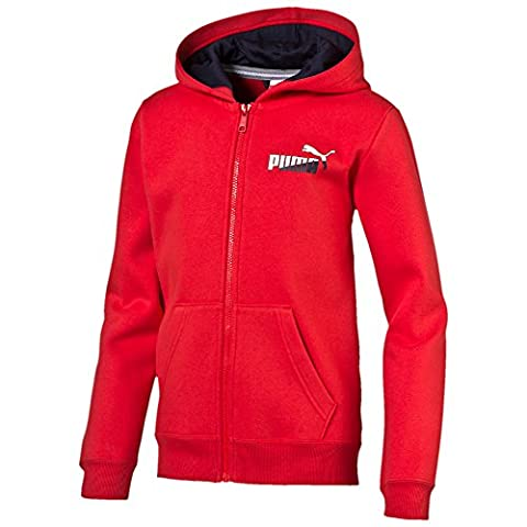 Puma Fun TD Graphic Hooded Jacket Sweat, enfant, bébé, Fun Td Graphic Hooded Jacket, rouge
