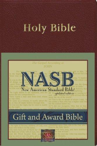 Preisvergleich Produktbild New American Standard Gift & Award Bible; Burgundy Imitation Leather by The Lockman Foudndation (1997-03-01)
