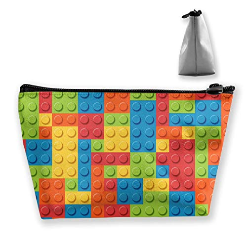 Tragbare Reisetasche Building Blocks Bricks Makeup Bag ()
