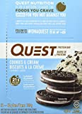 Quest Nutrition Quest Bars Cookies & Cream - 12 Barras