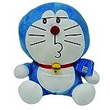 Doraemon Naughty Plush, Blue (25cm)