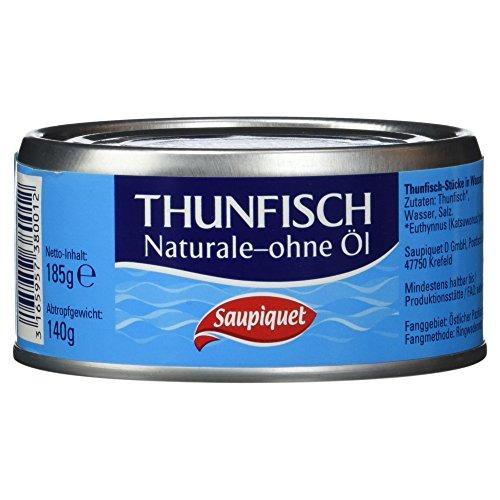 Preisvergleich Produktbild Saupiquet Thunfischstücke in Wasser,  140 g