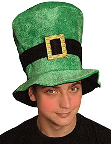 St Patricks Day Irish Green Velours Irish Mütze Fancy Dress Party Kostüm Accessoire