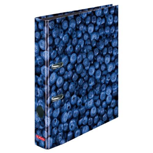 Herlitz Ordner maX.file, A4, 5 cm, FSC Mix, blaubeere