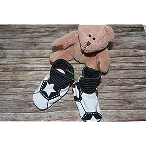 Baby Schühchen Puschen Schuhe handmade Fußball