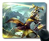 Master Yi League of Legends Game002 Rectangle Mouse Pad by eeMuse