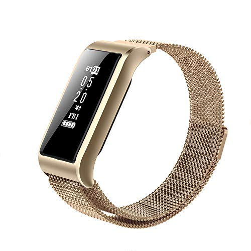 Articoli sportivi Smart Watch,Activity Tracker, Orologio Bluetooth Fitness con cardiofrequenzimetro, Sleep Tracker, Orologio da pedometro Impermeabile da Donna e Uomo