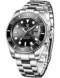 Pagani Design Automatic Divers orologi orologio analogico uomo automatico con cinturino in acciaio inox