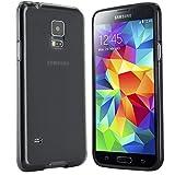 moodie Schutzhülle für Samsung Galaxy S5 Mini Hülle Silikon Case Cover in Schwarz
