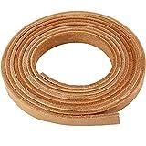 Bande de cuir, l: 10 mm, épaisseur 3 mm, naturel, 2m