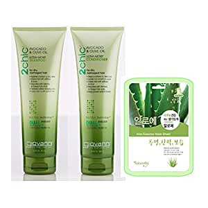 Giovanni 2chic Avocado & Olive Oil Shampoo & Conditioner Set - 8.5oz