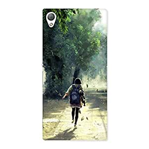Gorgeous Back To Home Back Case Cover for Sony Xperia Z3