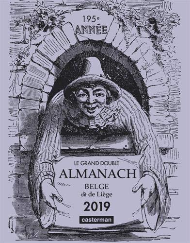 Le grand double almanach belge dit de Liège par Anonyme