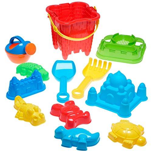 Completo-conjunto-de-juguetes-para-la-playa-en-bolsa-reutilizable-con-cremallera-Colores-surtidos