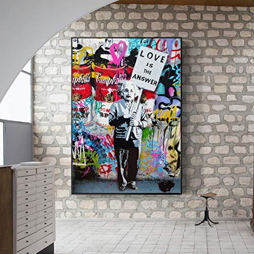 LPHMMD Peinture de décoration Murale TableauxPop Art...