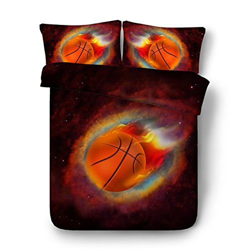LifeisPerfect JF-556 Galaxy Bett Set 4 Stk Shooting Stars Basketball Bettbezug Einzigen vollständigen Queen King Size Betten Jungen Teens Handtücher Set