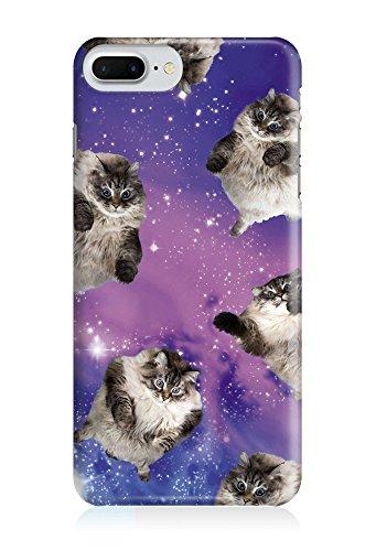 COVER Katze cat Tier Space lila Weltall Design Handy Hülle Case 3D-Druck Top-Qualität kratzfest Huawei 9 Mate