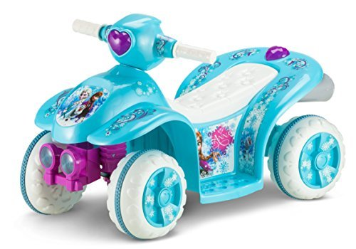 Kid Trax Frozen 6V Toddler Quad Ride On, Blue by Kid Trax