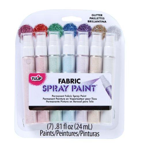 i-love-schaffen-zu-farbe-tulip-stoff-spray-mini-pack-81-oz-7-kg-glitter