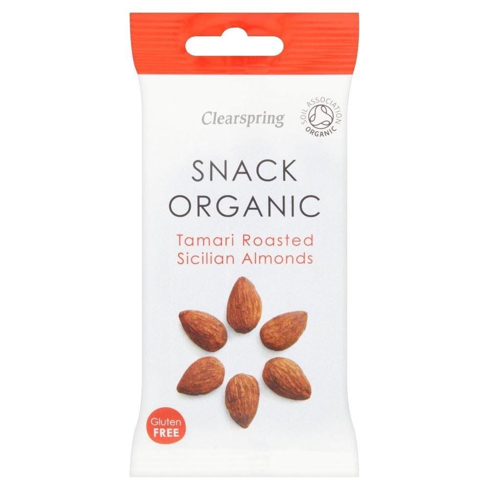 Clearspring Mandorle Tostate Tamari Organici (30g)