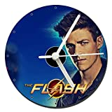 MasTazas The Flash Barry Allen Grant Gustin CD Clock 12cm