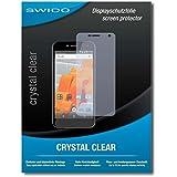 "2 x SWIDO protecteur d'écran Wileyfox Spark+ film protecteur feuille ""CrystalClear"" invisible"