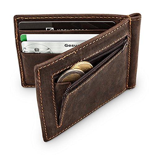 geldklammer-kreditkartenetui-aus-echtem-leder-mit-munzfach-i-vintage-look-i-rfid-blocker-i-kartenetu
