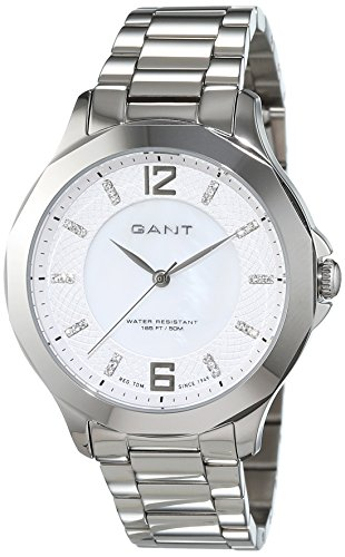 Gant Women's Quartz Watch with Pearl River Analogue Quartz Stainless Steel W70712