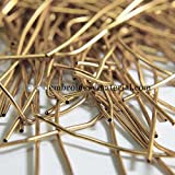 #2: Embroiderymaterial Dapka For Aari , Zardosi Embroidery & Jewellery Work ,1MM, Smooth Finish, Sun Kiss Color(100 Gram)
