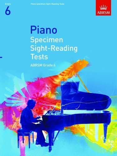 Piano Specimen Sight-Reading Tests, Grade 6 (ABRSM Sight-Reading) by ABRSM (2008-07-03)