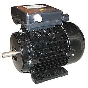 Moteur électrique monophasé 220 Volts 1 Cv 0.75 KW 1500 T/m